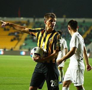Игрок ФК Кайрат Андрей Аршавин, архивное фото