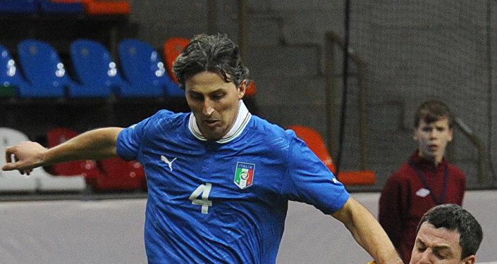 Итальянский футболист Дино Баджо, архивное фото