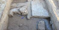 Археологические раскопки, в ходе которой найдены ценные артефакты, велась на городище Культобе