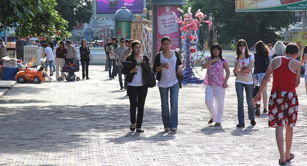Арбат в Алматы