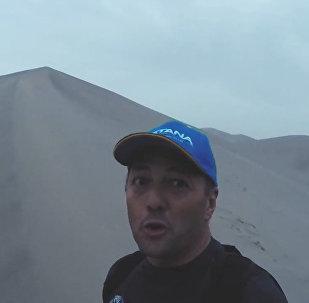 Китайские дюны закрыли для гонщиков ралли Шелковый путь