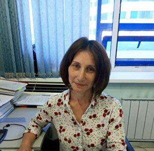 Начальник отдела метеорологического мониторинга РГП Казгидромет Нонна Лоенко