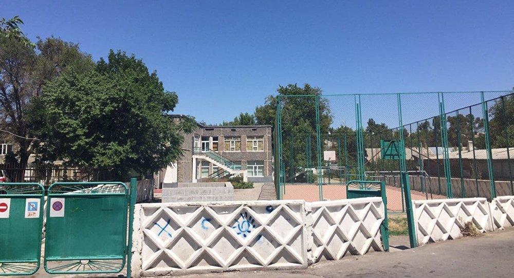 Дом пробации на территории школы в Таразе