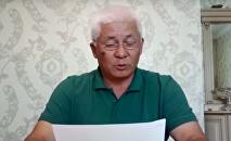 Өмірбек Жампозовтың видеоүндеуі