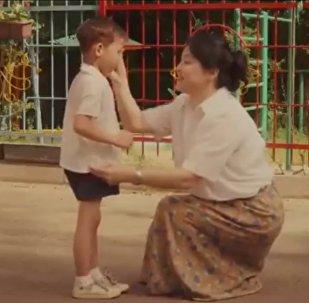Социальный ролик о любви к маме
