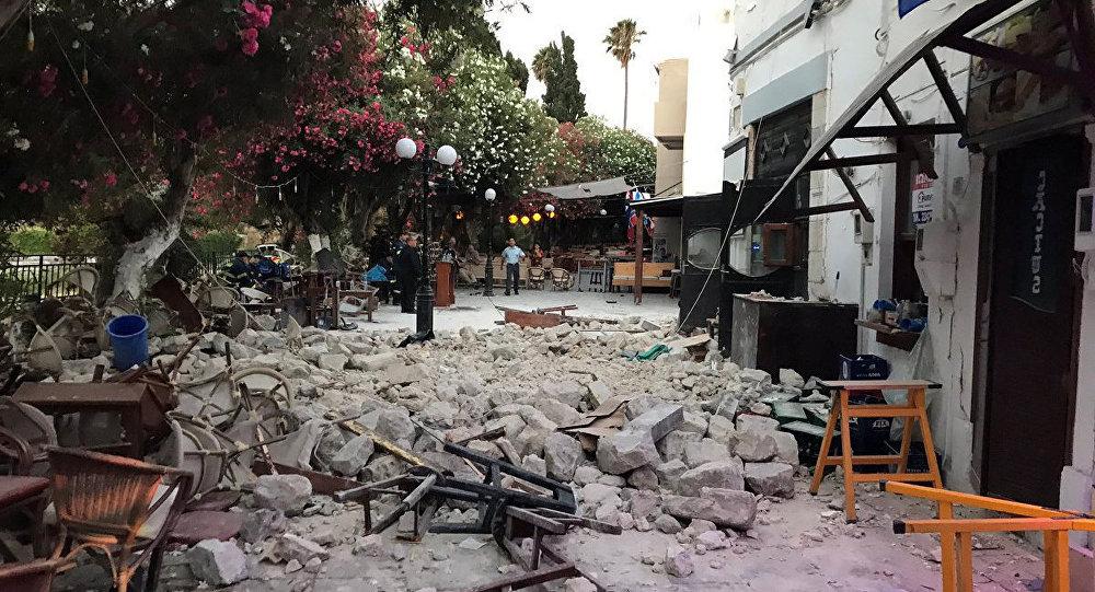 Казахстанка Аселина Лесса стала очевидцем землетрясения в Греции