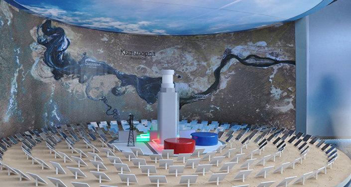 Бельгия представила на ЭКСПО проект солнечной электростанциив Кызылорде
