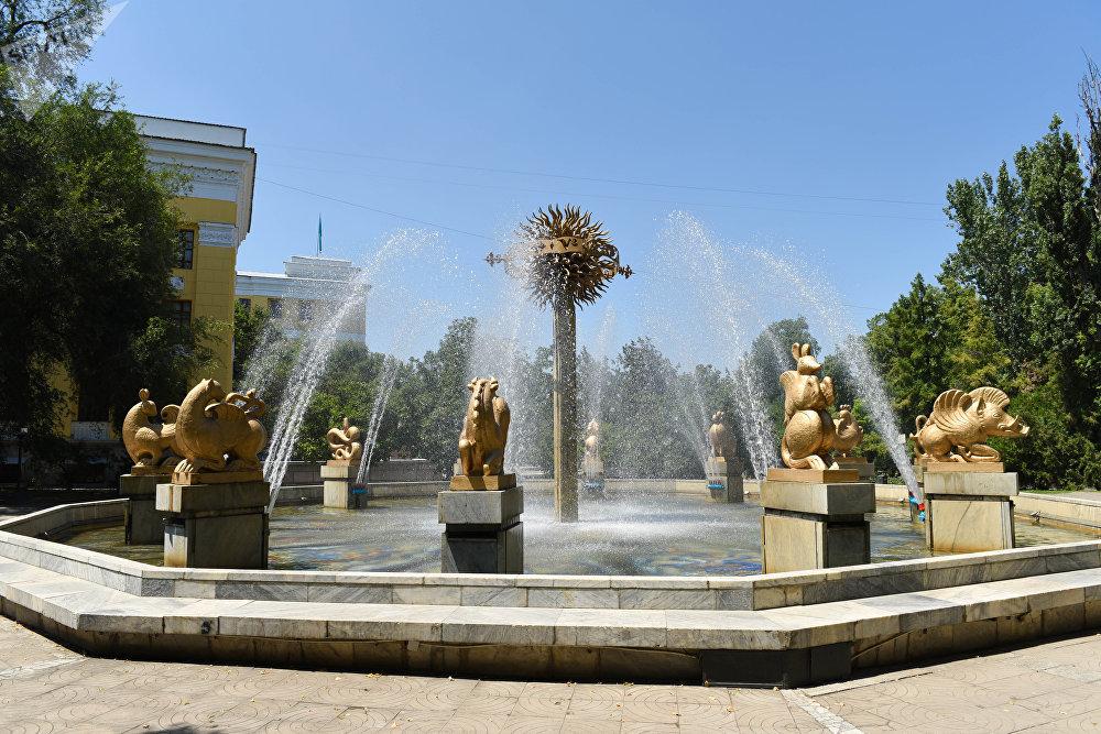 Алматы фонтандары