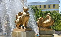 Фонтаны в Алматы