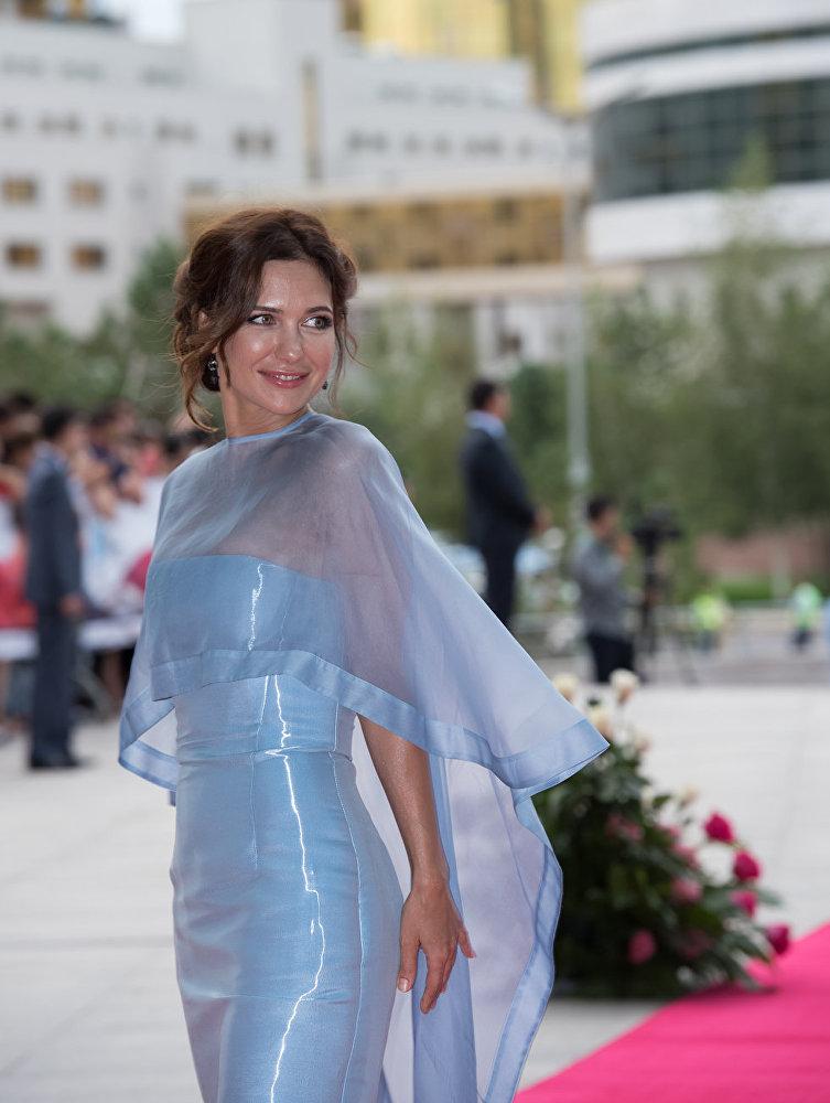 Актриса Екатерина Климова на кинофестивале Евразия
