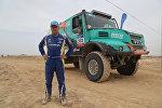 Казахстанский гонщик Артур Ардавичус