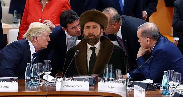 Николас Кейдж в чапане стал героем мемов