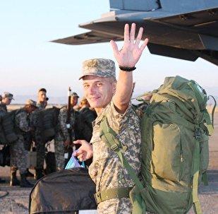 Военнослужащие Казахстана отправились на АрМИ-2017