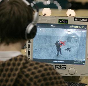 Турнир по компьютерной игре Counter-Strike, архивное фото