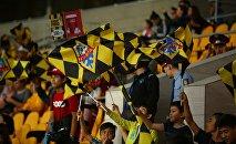 Болельщики футбольного клуба Кайрат