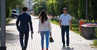 Люди, пешеходы