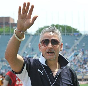 Футболист Роберто Баджо, архивное фото