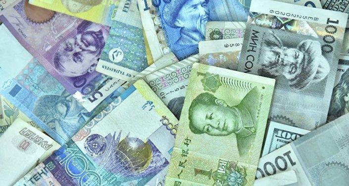 Валюта разных стран, архивное фото