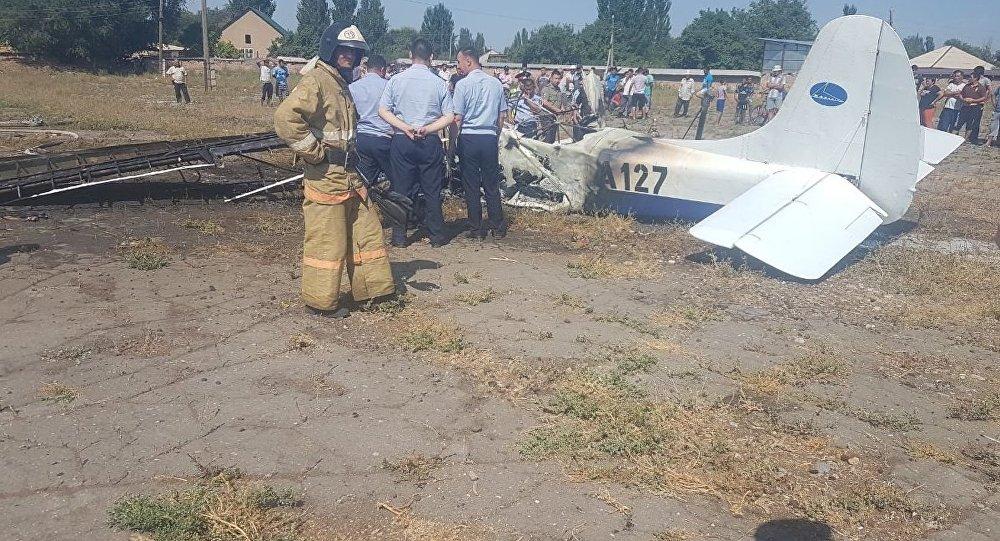 Авиакатастрофа под Жаркентом, фото с места событий