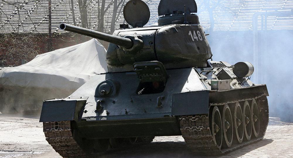 Танк Т-34, архивное фото