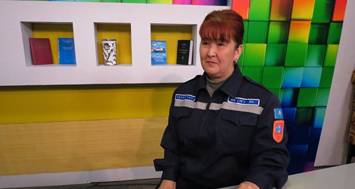 Главный специалист группы госязыка и информации департамента по ЧС ЮКО Зарипа Турусбекова