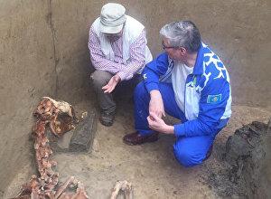 В долине Берель на Алтае обнаружен ещё один Золотой человек