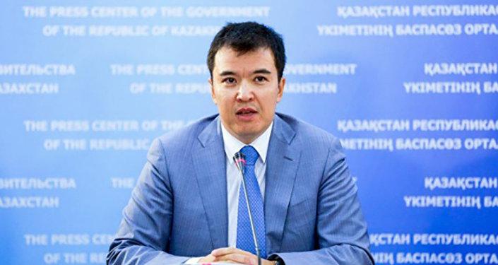 Вице-министр национальной экономики РК Руслан Даленов