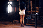 Работница коммерческого секса, архивное фото