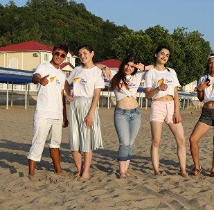 Вокалисты международного проекта Ты супер! провели три недели во Всероссийском детском центре Орленок