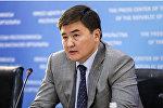 Заместитель министра юстиции Казахстана Жанат Ешмагамбетов
