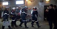 Спасение шахтера в Якутии