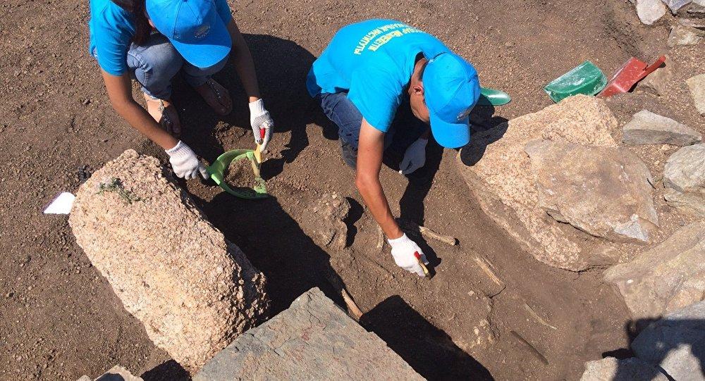 Останки древнего воина обнаружили археологи Павлодарской области