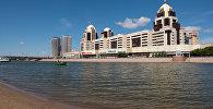 Река Ишим в Нур-Султане, архивное фото