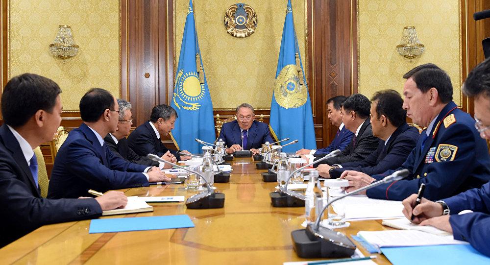 Совещание по вопросам реформы правоохранительной системы Казахстана под председательством главы государства