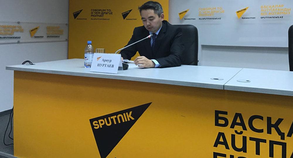 Эксперт комитета фармации министерства здравоохранения РК Арнур Нуртаев