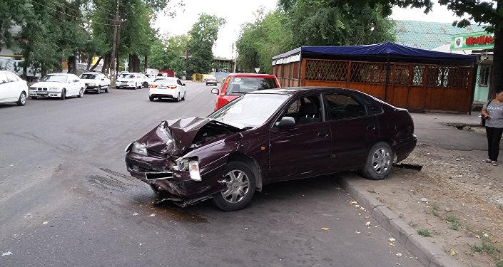 Предполагаемый виновник ДТП пытался сбежать в Алматы