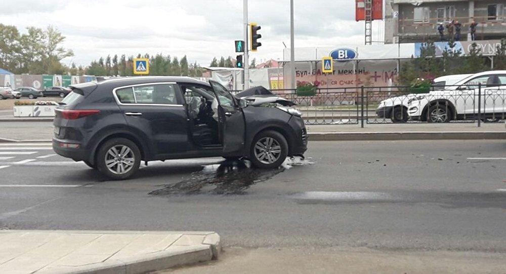 Астанада отбасы жол апатына түсті