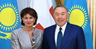 Президент Республики Казахстан Нурсултан Назарбаев встретился с главой Швейцарской Конфедерации Дорис Лойтхард