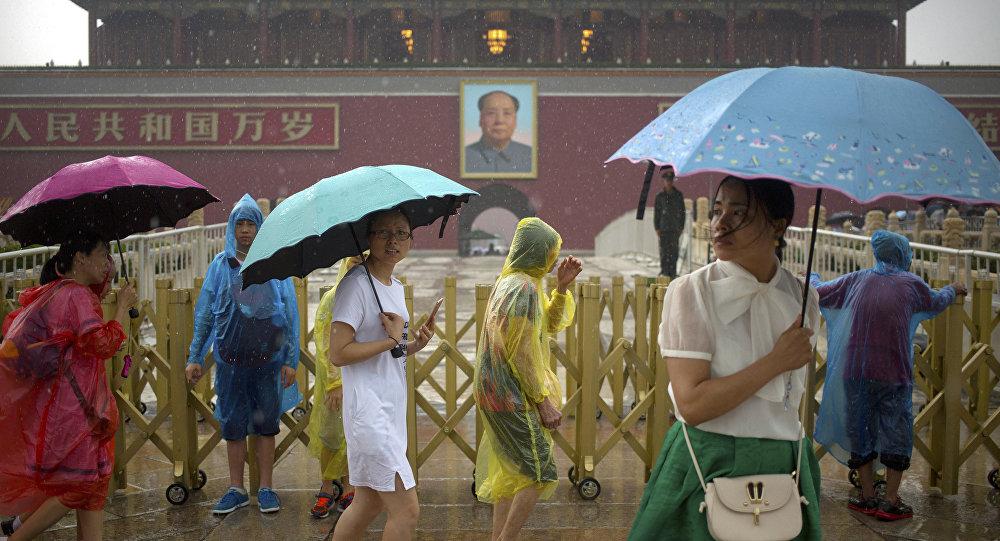 Дожди в Пекине