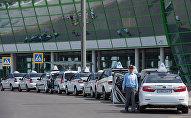 Парковка в аэропорту Астаны