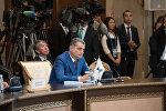 Тигран Саркисян во время заседания Евразийского межправсовета