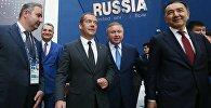 Дмитрий Медведев на выставке ЭКСПО - 2017