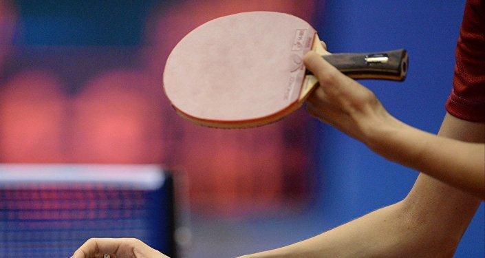 Настольный теннис, архивное фото