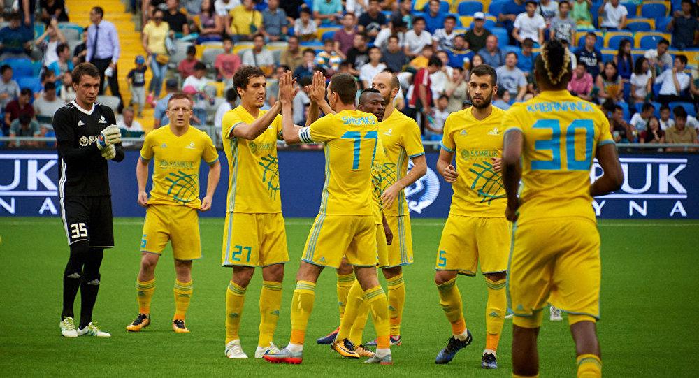 Игроки ФК Астана, архивное фото