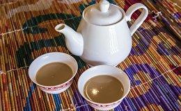 Рецепт кыргызского жареного чая с мукой, который бодрит похлеще кофе