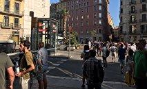 В Барселоне оцеплен район, где произошел теракт