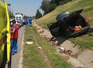 Шығыс айналма жолында Opel  мен Toyota Camry соқтығысты