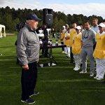 Нұрсұлтан Назарбаев Бурабайда гольф клубын ашты