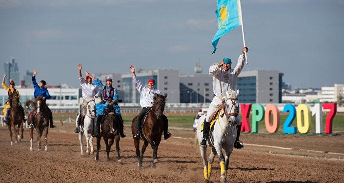 Первый чемпионат мира по кокпару в Астане