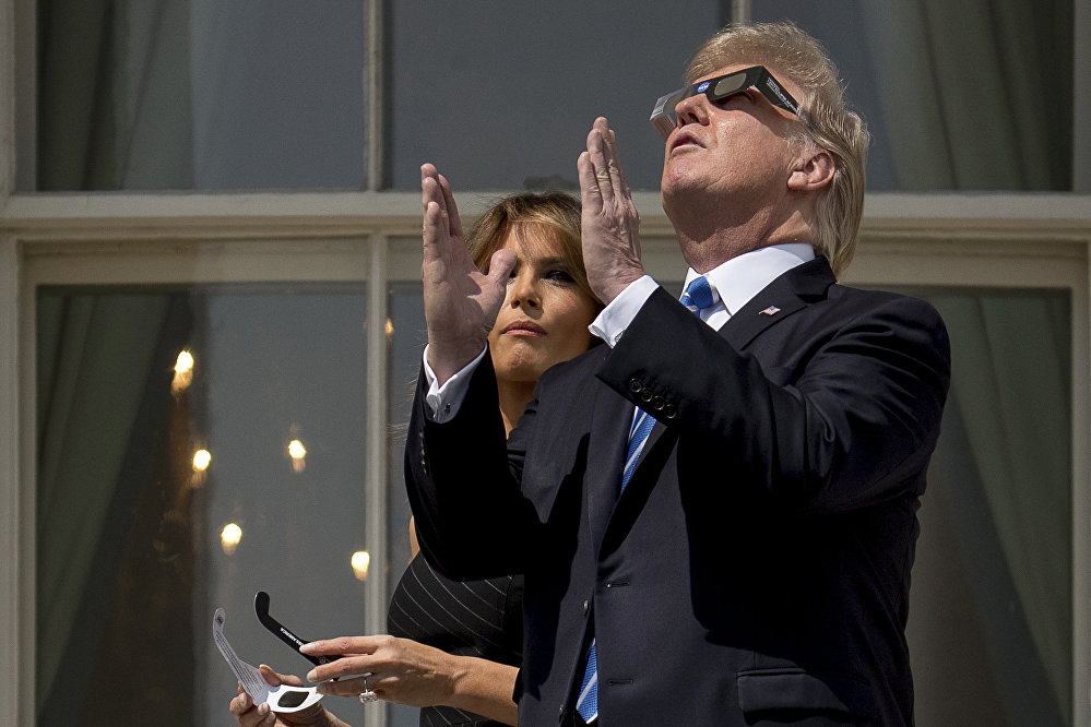Солнечное затмение в США